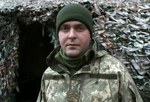 """Военнослужащий Олег """"Кос"""", facebook.com/pressjfo.news"""