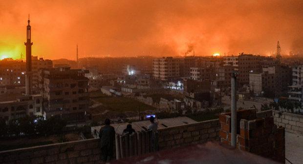 обстріли Сирії