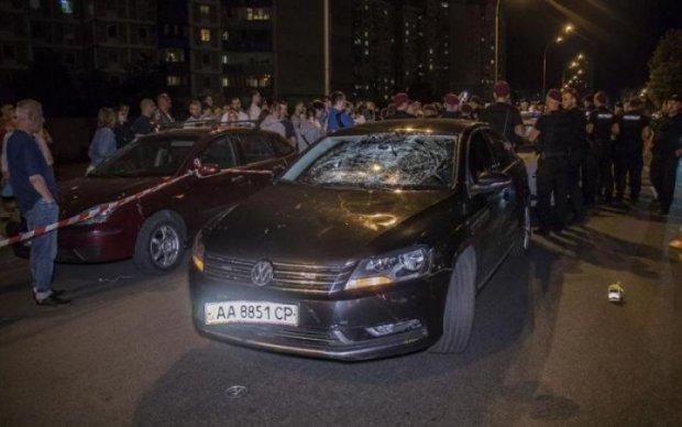 Кортеж Порошенко сбил ребенка: мать водителя призналась, кого охранял ее сын
