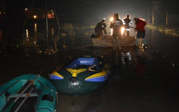 Український мегаполіс стрімко йде під воду