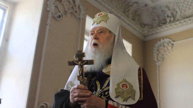 Патріарх Філарет освятив у Києві 10 тис пасок для українських воїнів