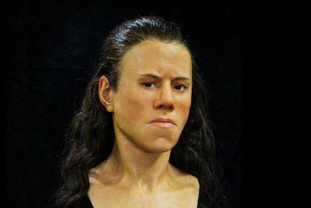 Реконструкция лица Авгі, фото National Geographic