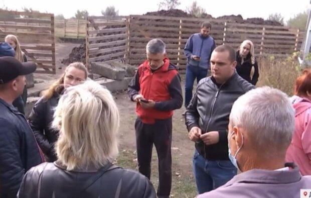 Жителі Підгороднього / скріншот з відео