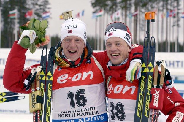 Норвежец Бе победил на чемпионате Европы в Беларуси