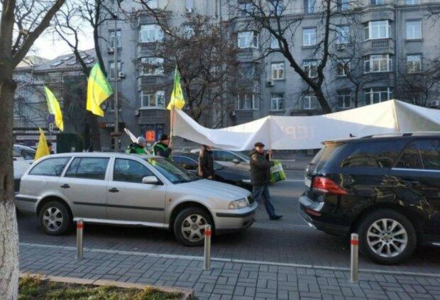 Мітинг під Верховною Радою, фото: Українська правда
