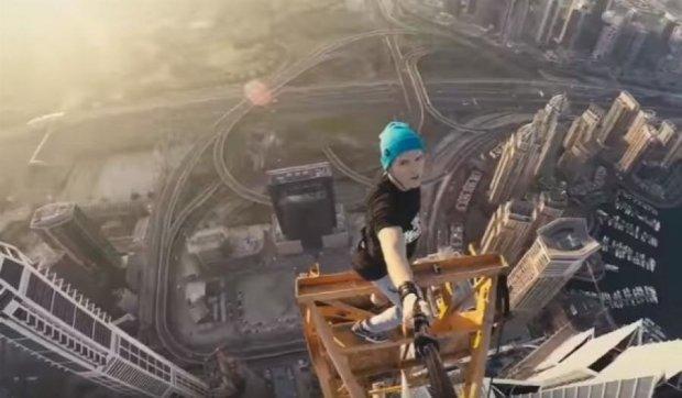 Украинский руфер покорил высоту в Дубае