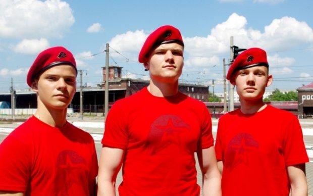 Путінський гітлерюгенд викрили у соцмережах