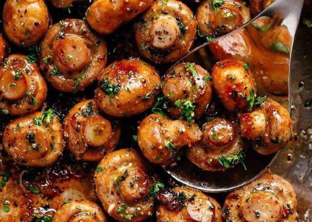 Чесночные шампиньоны, фото: instagram.com/foody.magic