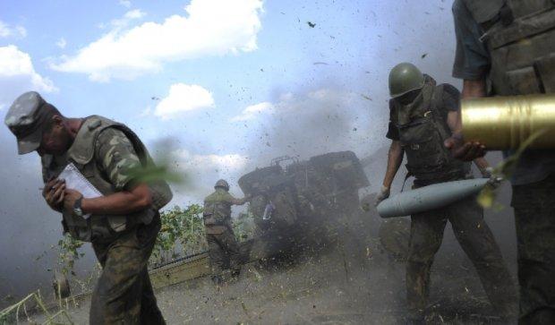 Под Счастьем силы АТО отбили атаку пехоты террористов