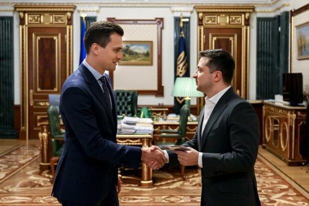 Скічко і Зеленський, фото: president.gov.ua