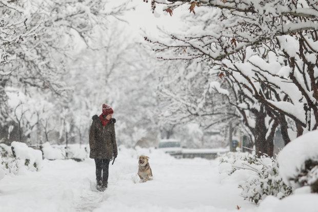 Погода на 30 грудня випробує українців на міцність