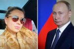 """Позашлюбна донька Путіна:"""" феноменально схожа"""" дівчинка носить його по батькові та ні в чому собі не відмовляє"""