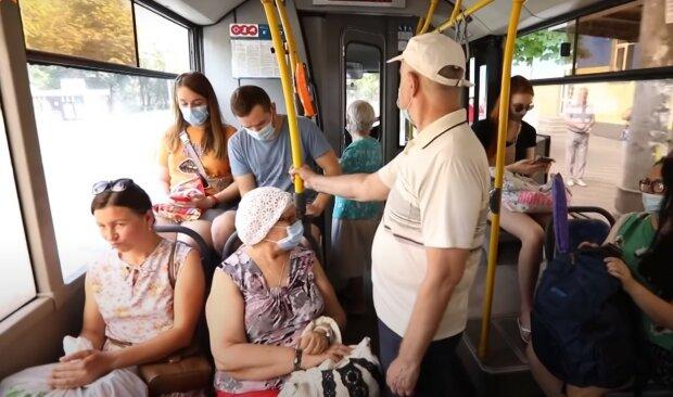 Общественный транспорт, скриншот из видео