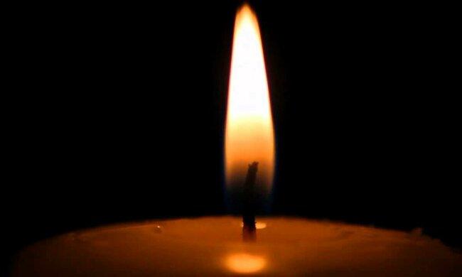 Траурна свічка, скріншот відео