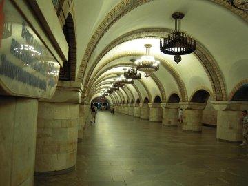 У київському метро Шевченка перетворили на Термінатора: сплав вільнодумства і науки