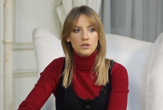 Леся Никитюк, скриншот из видео