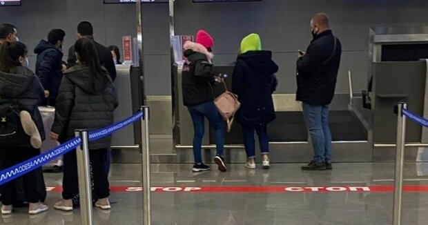 Аеропорт / фото: поліція Києва