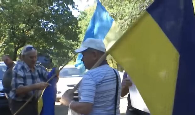 Ситуация на Донбассе скриншот: YouTube