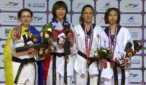 Українка здобула срібло чемпіонату світу з тхеквондо у Росії
