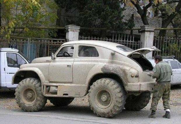 Автомобиль Победа, фото carakoom