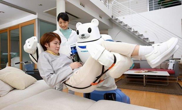 Літніх японців доглядатимуть роботи