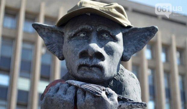 В Запорожье открыли памятник «въ знакъ скорби «русскаго міра» (фото)
