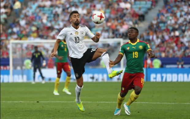 Кубок Конфедерацій: Німеччина в більшості здолала Камерун