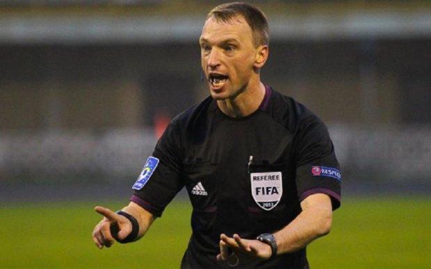 Крымский арбитр из базы Миротворца назначен на матч Лиги Европы