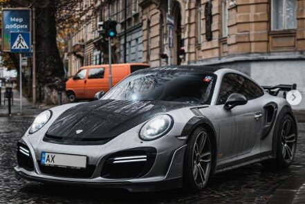 Porsche 911 Turbo TechArt, фото:  kharkiv_cars