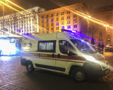 В центрі Києва поранили поліцейського