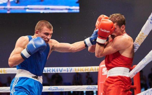 Український боксер впевнено переміг росіянина на чемпіонаті Європи в Харкові