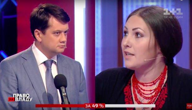 Разумков объяснил подруге Порошенко, что не так с Климкиным: наши ребята не вернулись, у вас было 5 лет