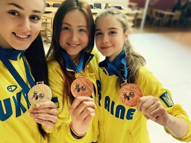 Украинские каратисты завоевали четыре медали на ЧМ в Чили