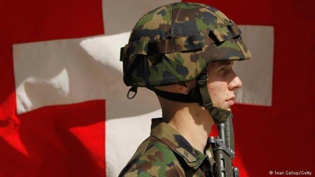 Швейцарія продала Росії тканину для військових