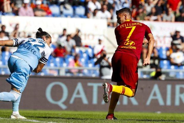 """Рома і Лаціо влаштували гольове дербі на """"Стадіо Олімпіко"""""""