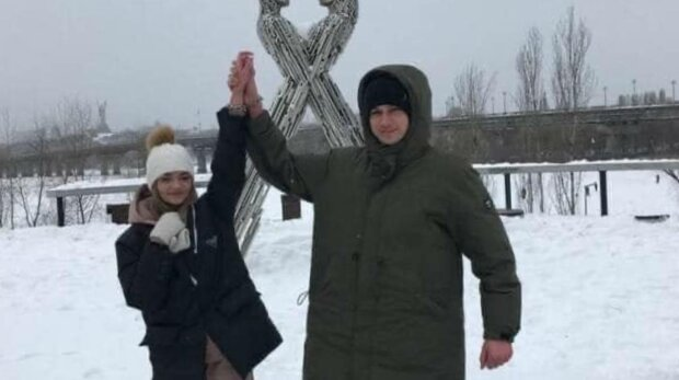 Пара з Харкова, фото: соціальні мережі