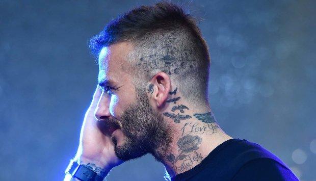 Девід Бекхем засвітив нове татуювання: посвята сім'ї