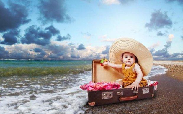 Відпустка на морі: як захистити дитину від хвороб