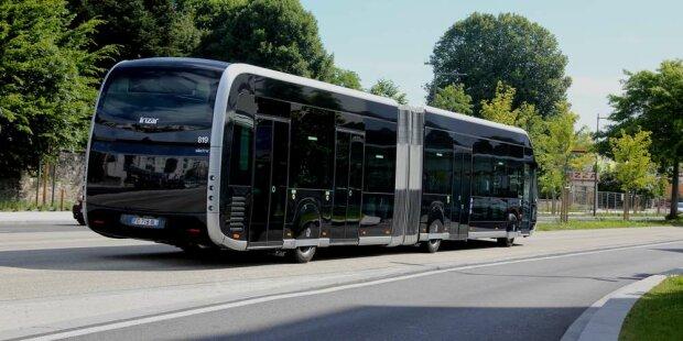 Автобус, фото Sud Ouest