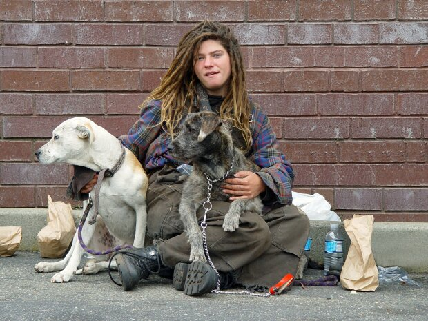 Безпритульна жінка, фото Wikimedia Commons
