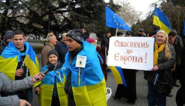 У Севастополі розігнали антиросійський мітинг