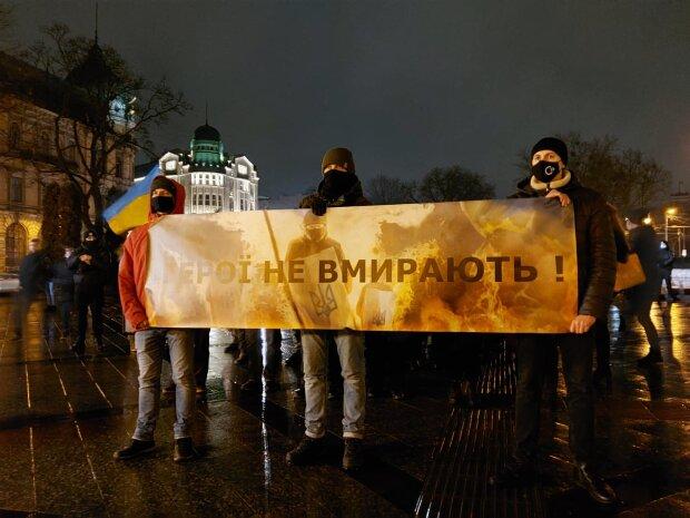 У Львові вшанували загиблих Героїв Небесної Сотні, фото: Варта-1