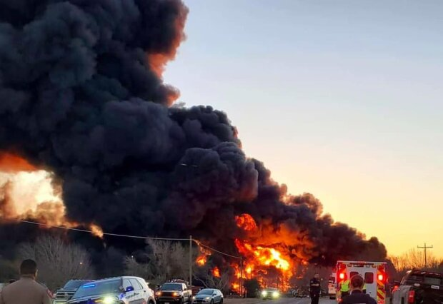 авария в Техасе, фото с Facebook