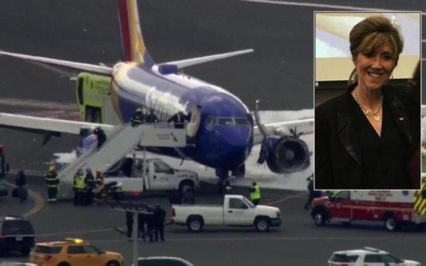 Жінка посадила авіалайнер без двигуна з висоти в 9 кілометрів