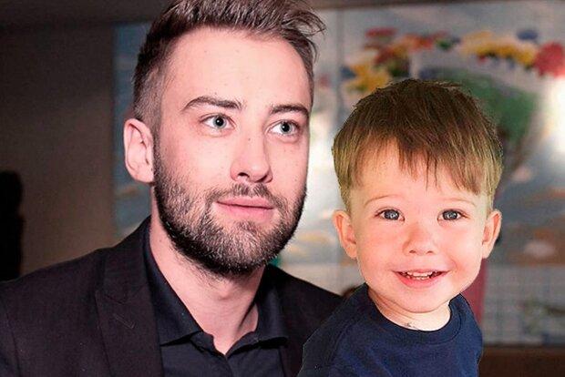 Дмитро Шепелєв з сином, фото: livestory.com.ua