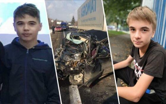 """Жуткое ДТП на Закарпатье оборвало жизнь 13-летних близнецов, украинцы не сдерживают слез: """"Женя и Саша, почивайте с миром..."""""""