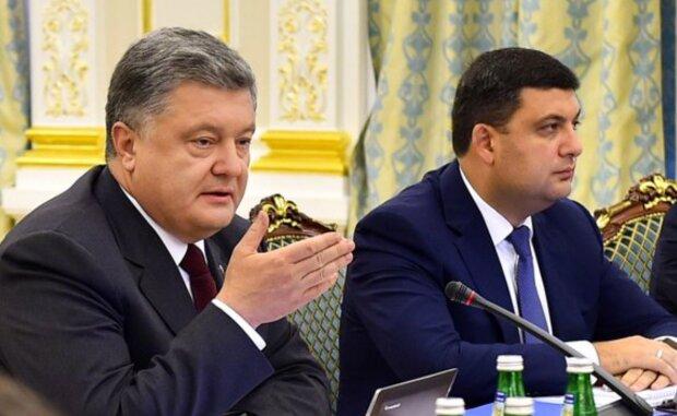 Петр Порошенко и Владимир Гройсман, фото: Укринформ