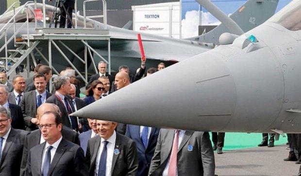 Франсуа Олланд відкрив міжнародний авіасалон Ле-Бурже