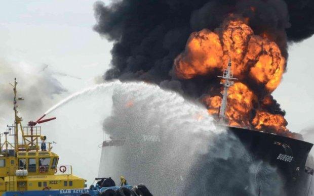 Российский танкер взорвался в Болгарии
