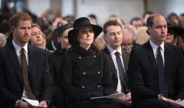 Герцоги Кембриджские и принц Гарри, Getty
